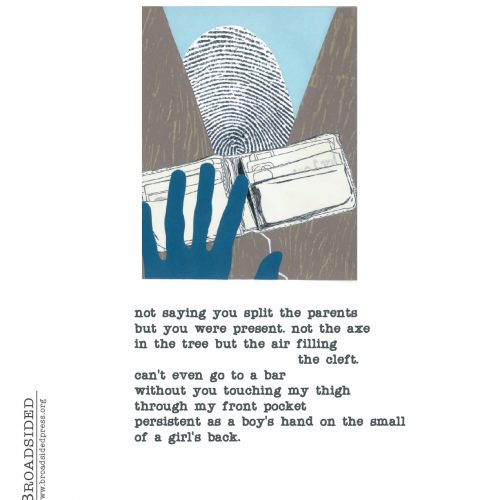 """Dear Wallet"" - Poem by Aaron Plasek, Art by Kate Baird - a Broadsided Press Collaboration"