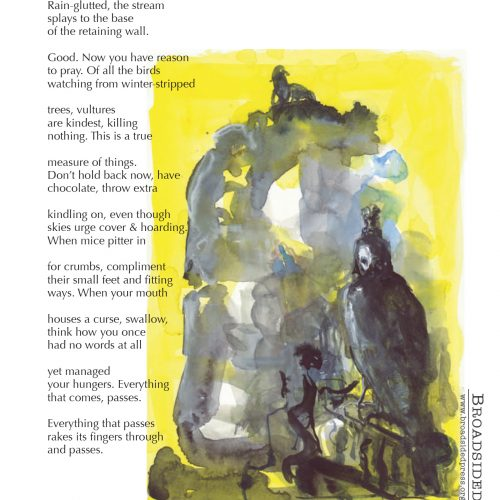"""Empire"" - Poem by Kathleen Lynch, Art by Helen Beckman Kaplan - a Broadsided Press Collaboration"