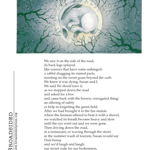 """The Gift"" - Poem by Lynn Stanley, Art by Amy Meissner - a Broadsided Press Collaboration"