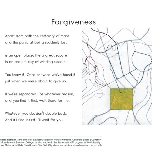 """Forgiveness"" - Poem by Richard Hoffman, Art by Kate Baird - a Broadsided Press Collaboration"