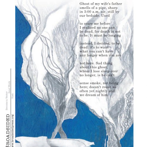 """Visitation"" - Poem by Noel Sloboda, Art by Kate Baird - a Broadsided Press Collaboration"